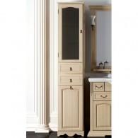 Пенал для ванной комнаты РИСПЕКТО 30 (слоновая кость) Opadiris