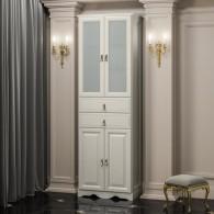 Пенал для ванной комнаты РИСПЕКТО 60 (слоновая кость) Opadiris