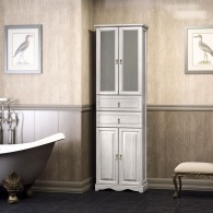 Пенал для ванной комнаты РИСПЕКТО 60 (орех белый) Opadiris
