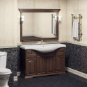 Комплект мебели для ванной комнаты РИСПЕКТО 120 Opadiris (орех антикварный)