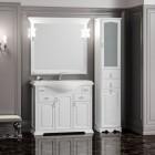 Комплект мебели для ванной комнаты РИСПЕКТО 105 Opadiris (белый матовый)
