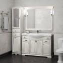 Комплект мебели для ванной комнаты РИСПЕКТО 120 Opadiris (белый матовый)