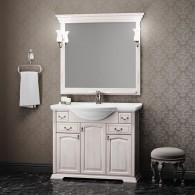 Комплект мебели для ванной комнаты РИСПЕКТО 105 Opadiris (орех белый)