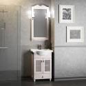 Комплект мебели для ванной комнаты ТИБЕТ 50 Opadiris (орех белый) решетка