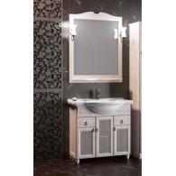Комплект мебели для ванной комнаты ТИБЕТ 85 Opadiris (орех белый) решетка