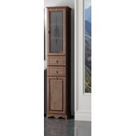 Пенал для ванной комнаты ТИБЕТ 40 L/R (орех антикварный) Opadiris витраж