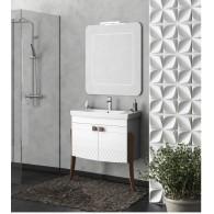 Комплект мебели для ванной комнаты Зафирро 65 SMILE (белый)