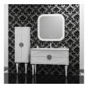 Комплект мебели для ванной комнаты Ибица 120 SMILE (белый хром)