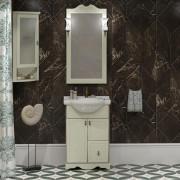 Комплект мебели для ванной комнаты КЛИО 50 Opadiris (слоновая кость)