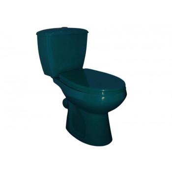 Унитаз-компакт Оскольская керамика Элисса зеленый