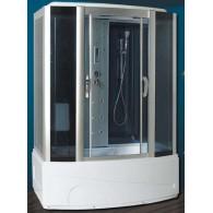 Душевая кабина Rich 9018Р-1 (1500*860*2150) с парогенератором и гидромассажной ванной