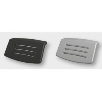 Подголовник для ванны Riho AH16 black/silver