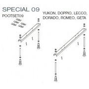 Ножки для ванны Riho POOTSET 09 SPECIAL