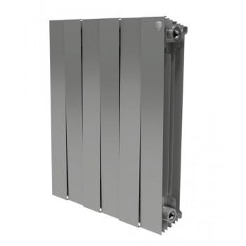 Радиатор Royal Thermo PianoForte 500/Silver Satin - 4 секц.