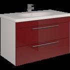 Тумба SCORZA Laconica 90 2 ящика с раковиной Gustavsberg