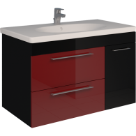Тумба SCORZA Laconica 90 2 ящика и 1 дверь с раковиной Gustavsberg (R)