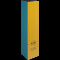 Пенал SCORZA  Laconiсa 35 подвесной 2 ящика 1 дверь (L)