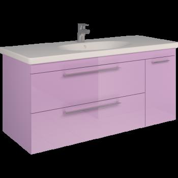 Тумба SCORZA Laconica 120 2 ящика и 1 дверь с раковиной Gustavsberg (R)