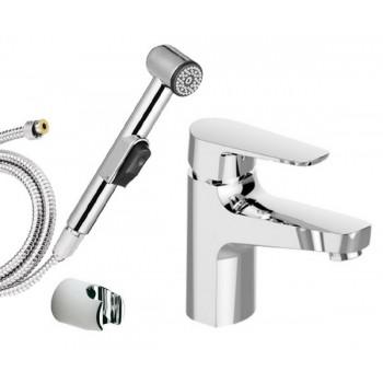 Смеситель для раковины с гигиеническим душем SMARTsant Инлайн SM103511AA