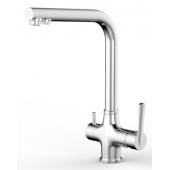 Смеситель для мойки с каналом для фильтрованной воды (хром) SM134041AA