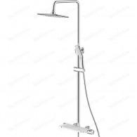 Душевая система SMARTsant Афалина для ванны и душа SM2307AW с термостатическим смесителем