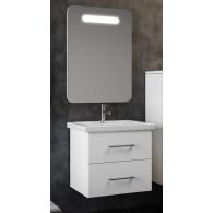 Комплект мебели для ванной комнаты Арабеско 70 SMILE (белый)