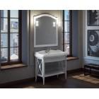 Комплект мебели для ванной комнаты Империал 80 SMILE (белый)