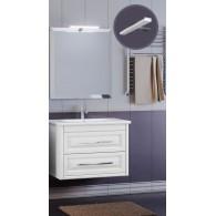 Комплект мебели для ванной комнаты Касабланка 60 SMILE (белый)