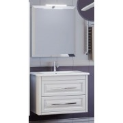 Комплект мебели для ванной комнаты Касабланка 80 SMILE (бежевый)