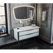 Комплект мебели Smile Риголетто 120 (белый/орех)
