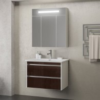 Комплект мебели Smile Фреш 80 (белый/коричневый)