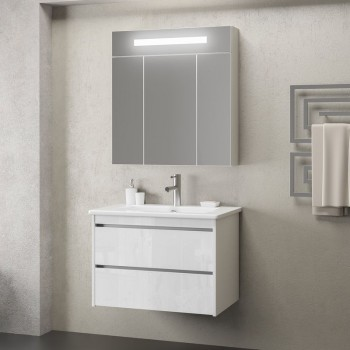 Комплект мебели Smile Фреш 60 (белый)