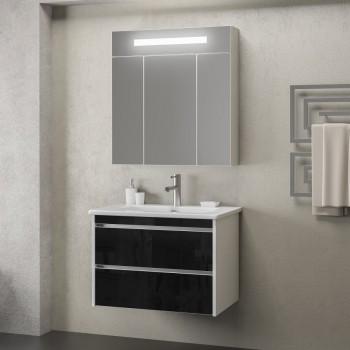 Комплект мебели Smile Фреш 80 (белый/черный)
