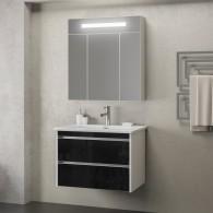Комплект мебели Smile Фреш 60 (белый/черный)