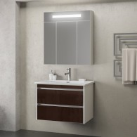 Комплект мебели Smile Фреш 60 (белый/коричневый)