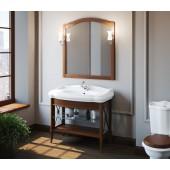 Комплект мебели для ванной комнаты Империал 80 SMILE (светлый орех)