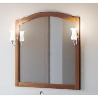 Зеркало Империал 100 SMILE (орех светлый)