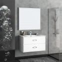 Комплект мебели для ванной комнаты Smile Монтэ 90 белый