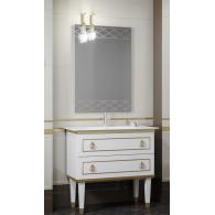 Комплект мебели Smile Порто 100 белый/золото