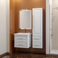 Комплект мебели для ванной комнаты Smile Сити 65 белый