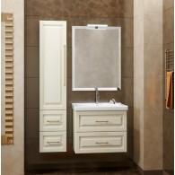 Комплект мебели для ванной комнаты Smile Сити 80 слоновая кость