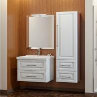 Комплект мебели для ванной комнаты Smile Сити 80 белый