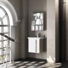 Комплект мебели для ванной комнаты Smile Стайл 50 белый/орегон