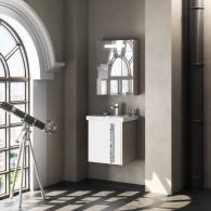 Комплект мебели для ванной комнаты Smile Стайл 60 белый/орегон
