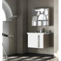 Комплект мебели для ванной комнаты Smile Стайл 70 белый/орегон