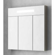 Зеркальный шкаф Smile Стайл 80 белый/орегон