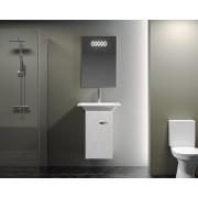 Комплект мебели для ванной комнаты Smile Торус 50 белый
