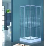 Душевой угол TimoTL-8002 romb glass