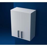 Шкаф навесной Ника-60 белый, 2 двери