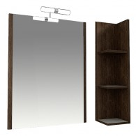 "Зеркало в ванную комнату Triton ""Эко wood - 55"""